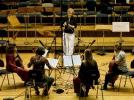 Studioaufnahme Liederprojekt - Les Escapades und Ruth Sandhoff